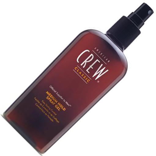 AMERICAN CREW Спрей-гель для волос средней фиксации Classic Medium Hold Spray Gel 250 мл